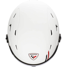 Rossignol Allspeed Visor Impacts Helmet Men strato white